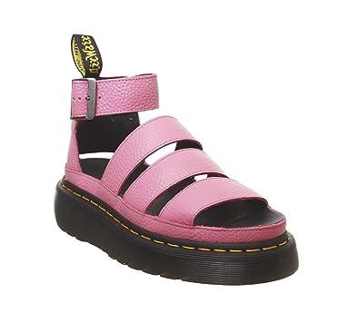 794ed4844ffa Dr. Martens Women s Clarissa II Quad Aunt Sally Leather Buckle Sandal Soft  Pink-Pink