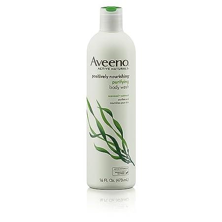 Aveeno Body Wash Positively Nourishing 16oz 6 Pack