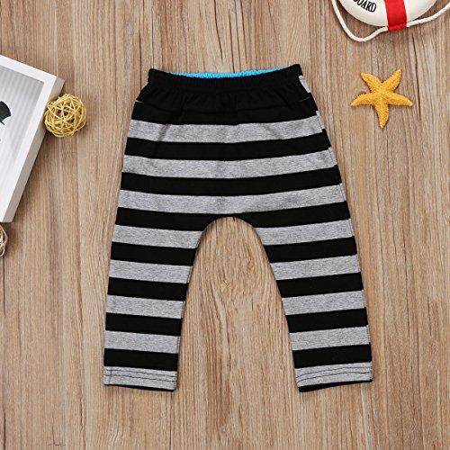 2 Styles Baby Boys Girls Deer Pattern Fox Print Harem Pants Leggings Long Pants