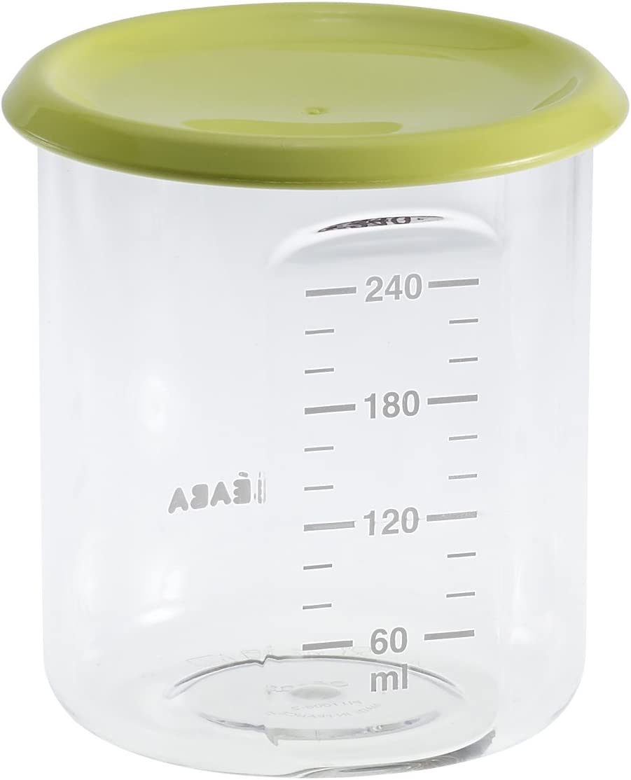 240 ml Tritan Neon BEABA Maxi Portion Conservation Jars