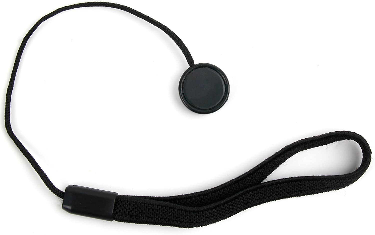 DURAGADGET Adhesive Camera Lens Cap Keeper Holder with Elastic Band for The Panasonic DMC-FZ330