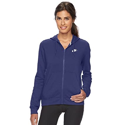 Libero E Donna Tempo Amazon it Fz Nike Hoodie W Sport Flc Nsw Felpa 17FHx6