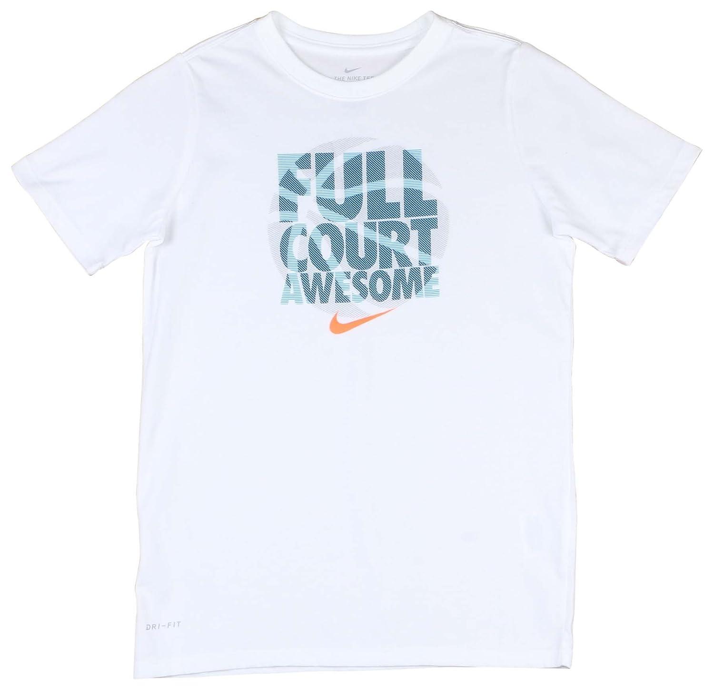 a26b5508 Top2: NIKE Big Boys' (8-20) Dri-Fit Full Court Basketball T-Shirt