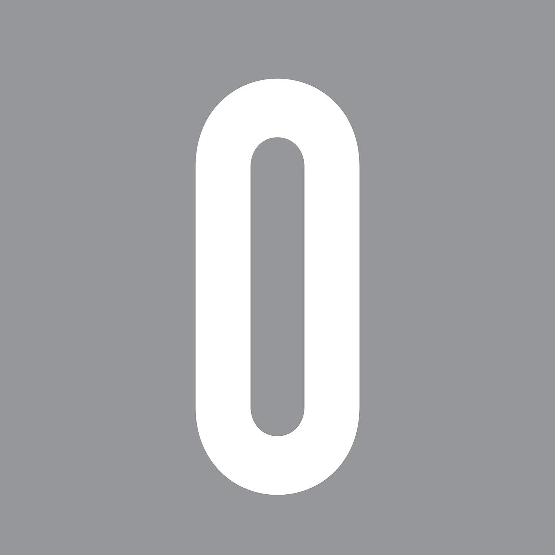 GreenIT 12cm DIN 1451 Wunsch Ziffer Zahl Nummer Hausnummer Aufkleber Tattoo Deko Folie T/ür Fenster Lampe schwarz, 9