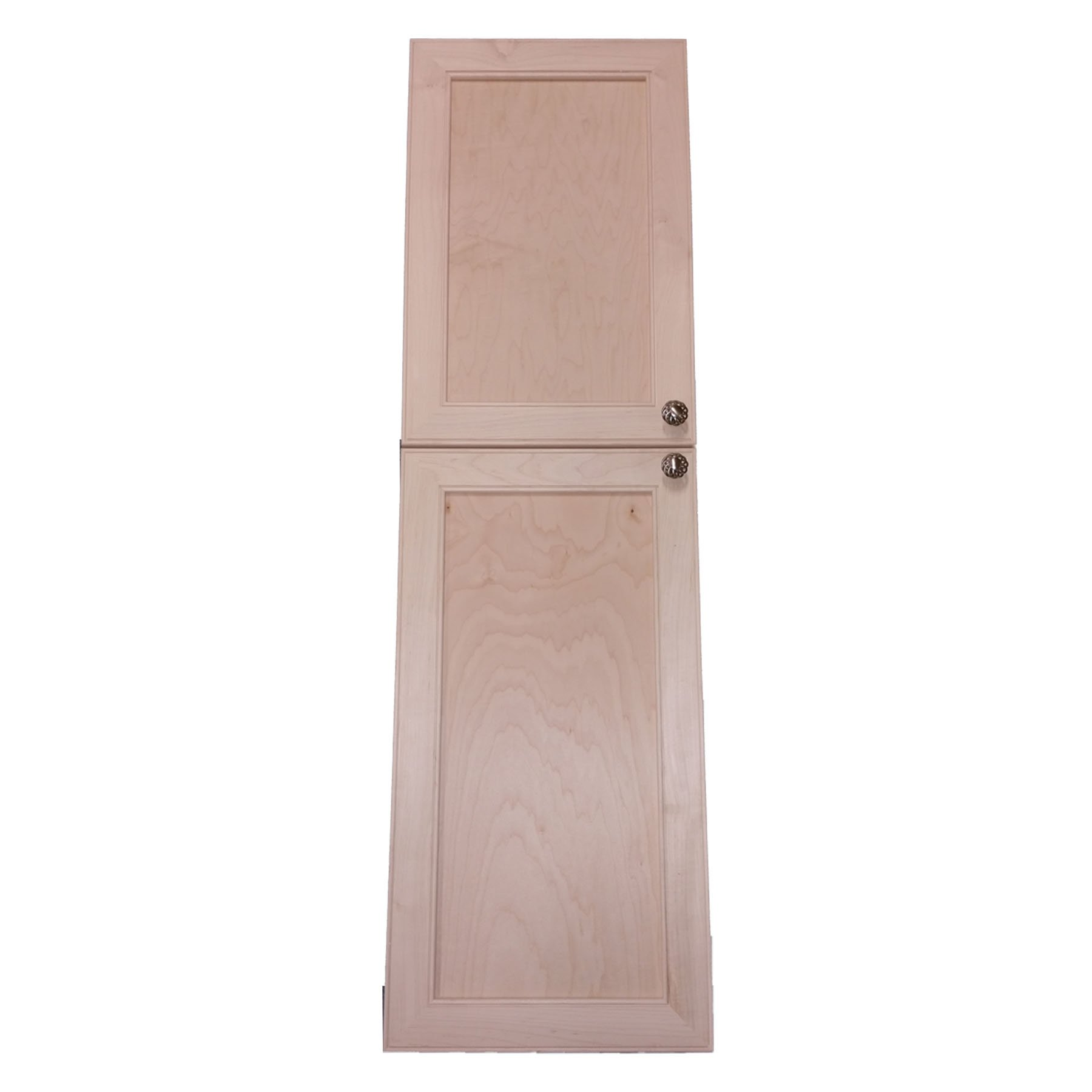 Wood Cabinets Direct MAX-BCK-260-2DRP Maxwell Recessed Two Door Frameless Pantry Cabinet, 60''