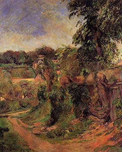 Gauguin Paul Near Rouen 2 100% Hand Painted Oil Paintings Reproductions 12X16 Inch by B-Arts