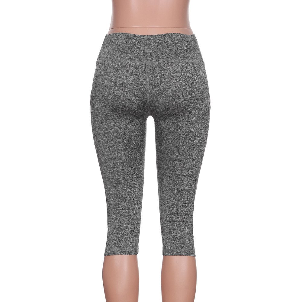 Modaworld /_Leggins Mujer fitness Leggings Deportes Mujeres Pantalones Deportes Impresi/ón de Fitness Gym Yoga Pantalon Deportivo Mallas de Running Pantalones cortos de verano