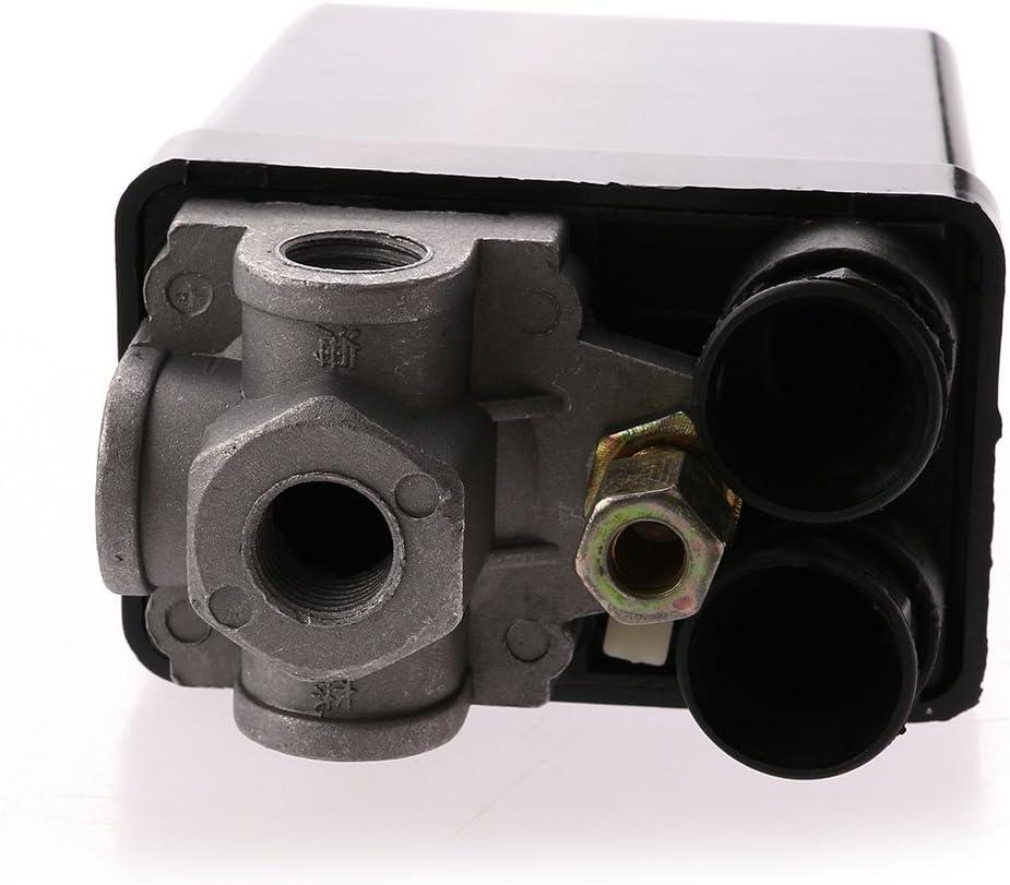 Winomo Luft Kompressor Druckschalter Kontrollventil Elektronik