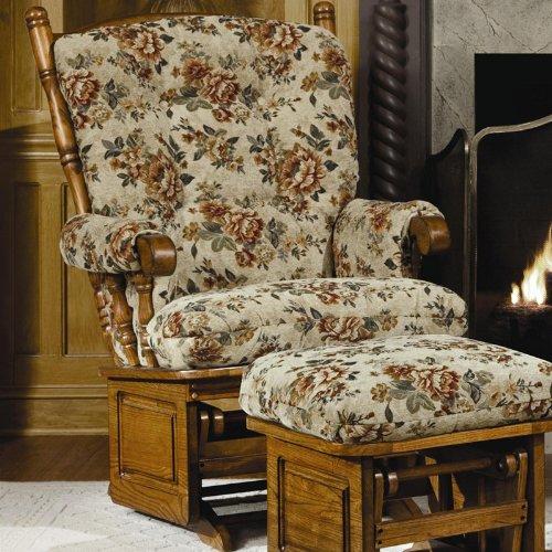 Brooks Furniture 1423 Oak Post Back/Solid Panel Glider for sale  Delivered anywhere in USA
