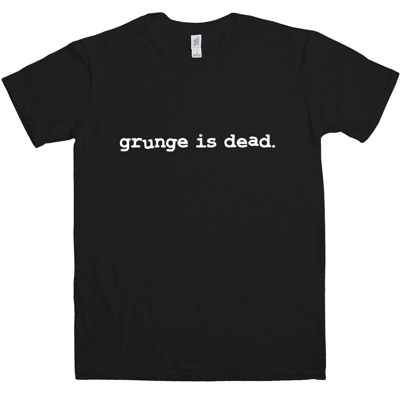 Black t shirt grunge - Amazon Com Mens T Shirt Grunge Is Dead T Shirt 8ball Originals Tees Clothing