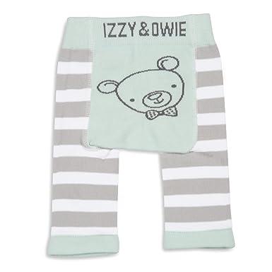 Amazon.com: Pavilion – verde rayas oso bebé Leggings 0 – 6 ...