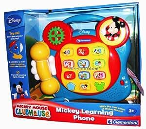 Mickey Mouse Clubhouse Teléfono Aprendizaje (UK Import)