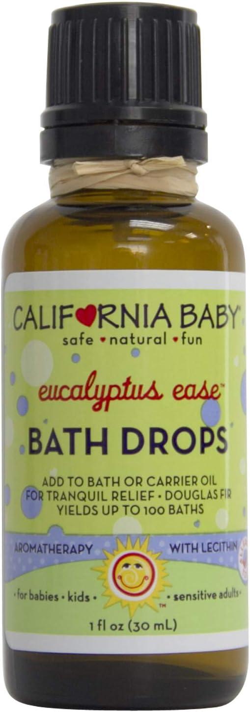 California Baby Eucalyptus Ease Bath Drops (1oz)