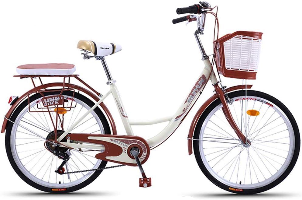 GHH 6 Speed Urbana Cómoda Bicicleta de Ciudad, Rueda de 26 ...