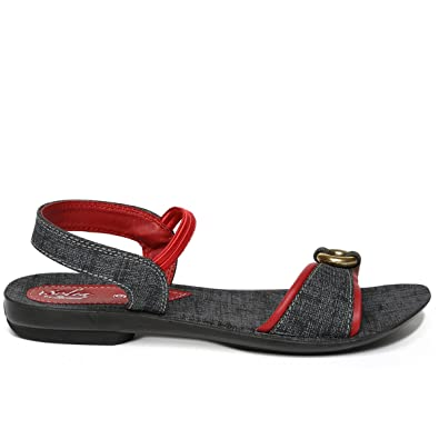 3fff4f136791 PARAGON SOLEA Women s Red Sandals  Buy Online at Low Prices in India ...