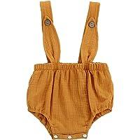 Fossen Bebe Peleles Patrón de Fox Monos para Recien Nacido Niña Niño 0-24 Meses Ropa Verano