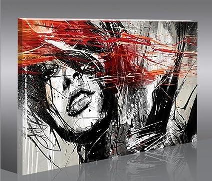 Quadro moderno Street Art Stampa su tela - Quadro x poltrone salotto ...