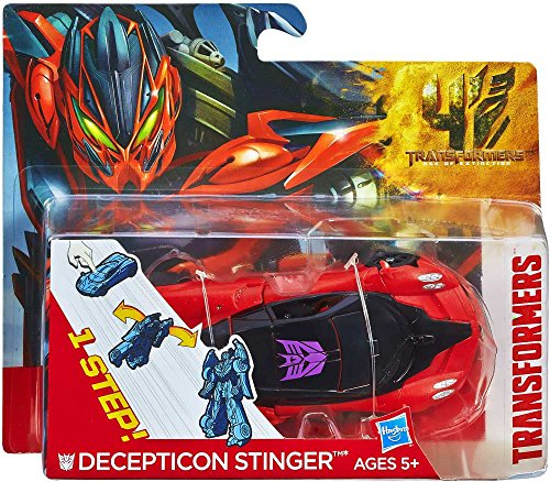 Transformers 4 Age of Extinction One Step Changer Action Figure Stinger