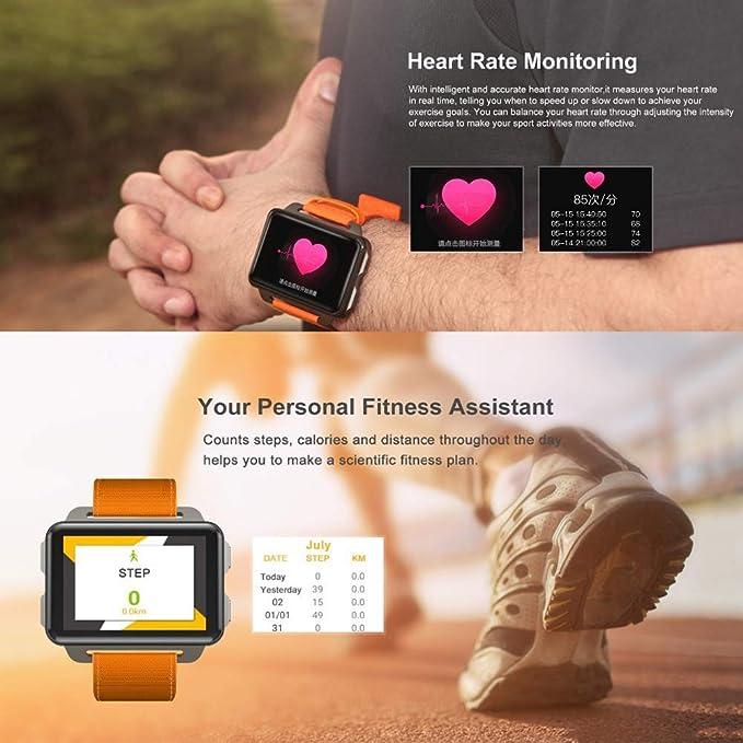 Amazon.com: Reloj deportivo multifunción, Bluetooth Smart ...