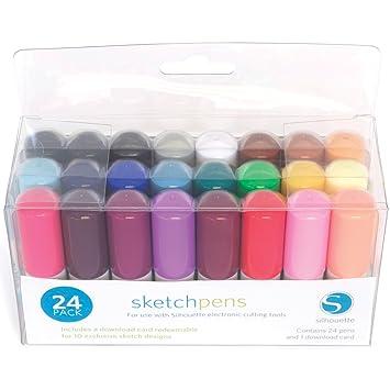 Silhouette Sketch Pens Tutorial for Beginners - Silhouette School