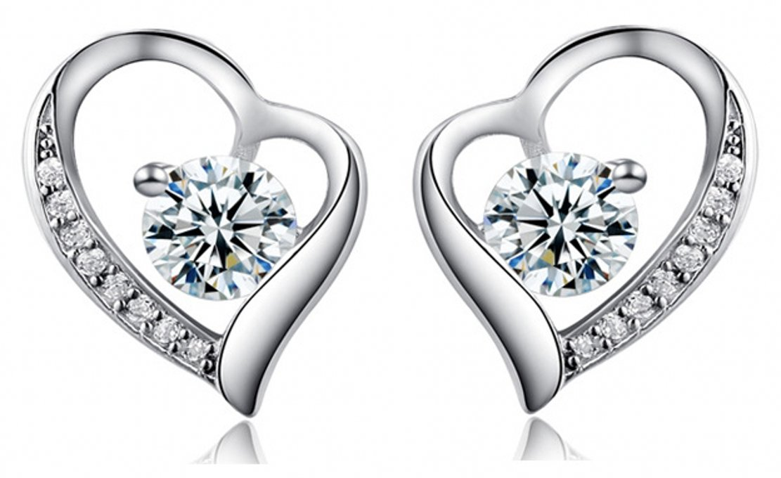 Silver Masters 925 Sterling Silver Stud Earrings
