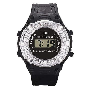 3fed9195e6 BOBOGOJP 子供に専用 デジタル腕時計 防水腕時計 スポーツウォッチ LED バックライト シリコン 30メートル