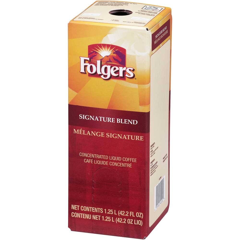Folgers Signature Blend Coffee Liquid, 1.25 Liter -- 2 per case.