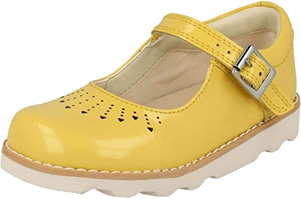 CLARKS Girl's Crown Jump K Infant Shoes