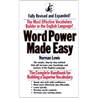 Word Power Made Easy by Lewis - Paperback
