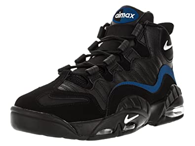 buy online 04a07 7e6e9 Nike Air Max Sensation, Chaussures de Sport - Basketball Homme, (Noir/Blanc-Bleu  Roi université), 39 EU: Amazon.fr: Chaussures et Sacs