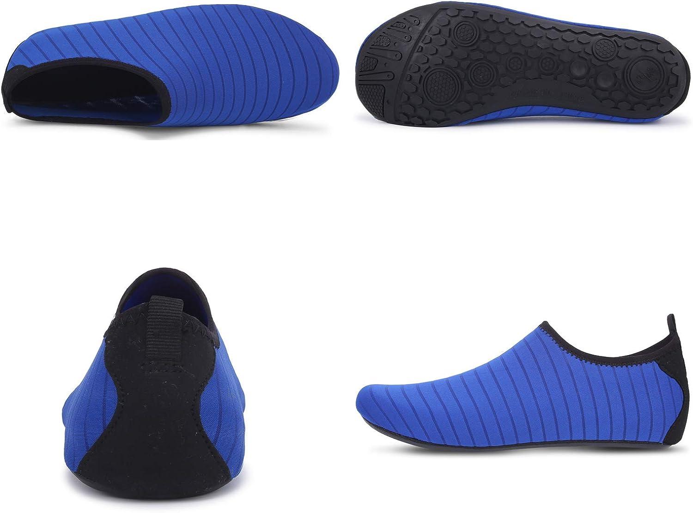 Farchat Zapatos de Agua para Hombre Mujer Snorkel Acu/áticos Escarpines Playa Buceo Surf Piscina Vela Mar R/ío Aqua Deportes Calzado de Nataci/ón