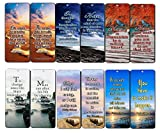 Creanoso Motivational Bookmarks (60-Pack) - Best Inspirational and Motivational Sayings Bookmarkers – Great Stocking Stuffer Gifts for Inspiring Book Lovers, Bookworms, Bibliophiles