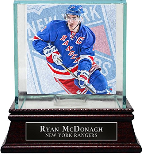 NHL New York Rangers Ryan McDonagh Puck Glass Display Case (Steiner Sports Puck Case)