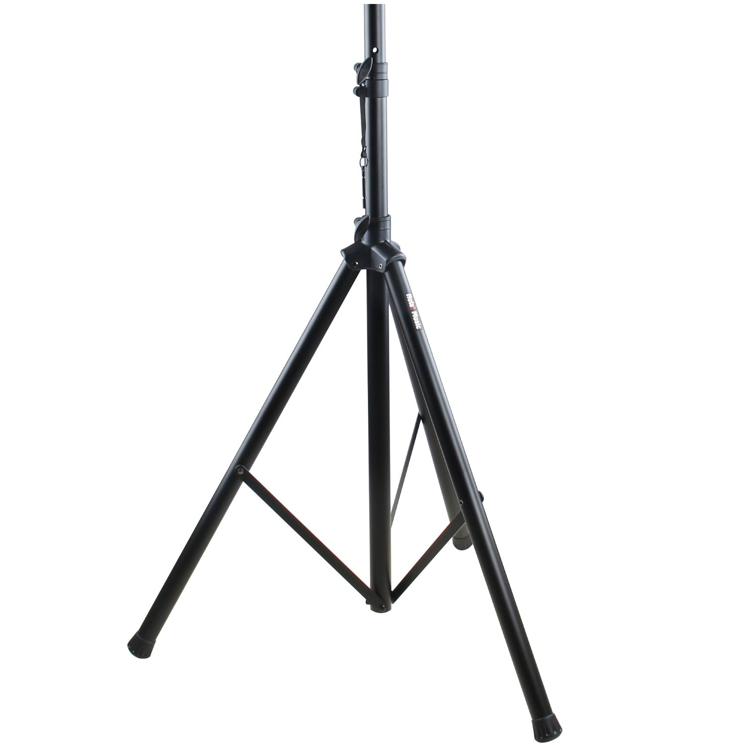 PA Speaker Stand by Hola! Music, Professional Tripod Structure, 4-6ft Adjustable Height, Model HPS-200S