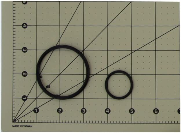 O-Ring for Rusco SD or ST Filters 1 Kit 1OR