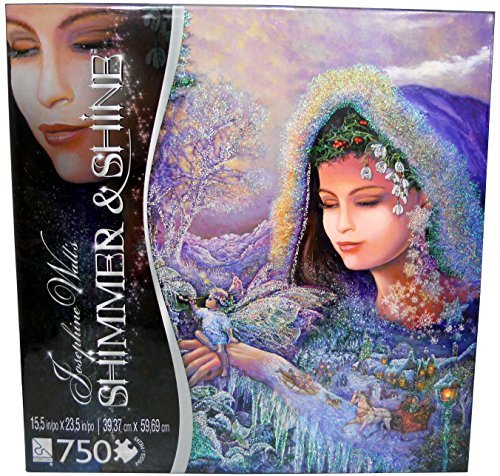 Josephine Wall 750 Piece Jigsaw Puzzle Shimmer and Shine Series - Spirit of Winter