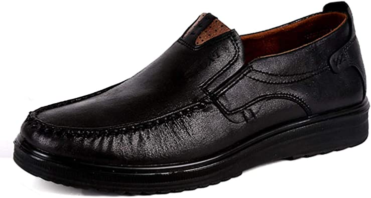 Men Comfy Casual Microfiber Leather