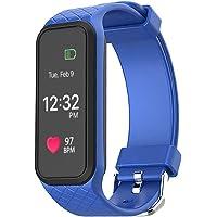 OPTA L38i Rubber Bluetooth Smart Fitness Band Heart Rate Sensor Monitors (Blue)