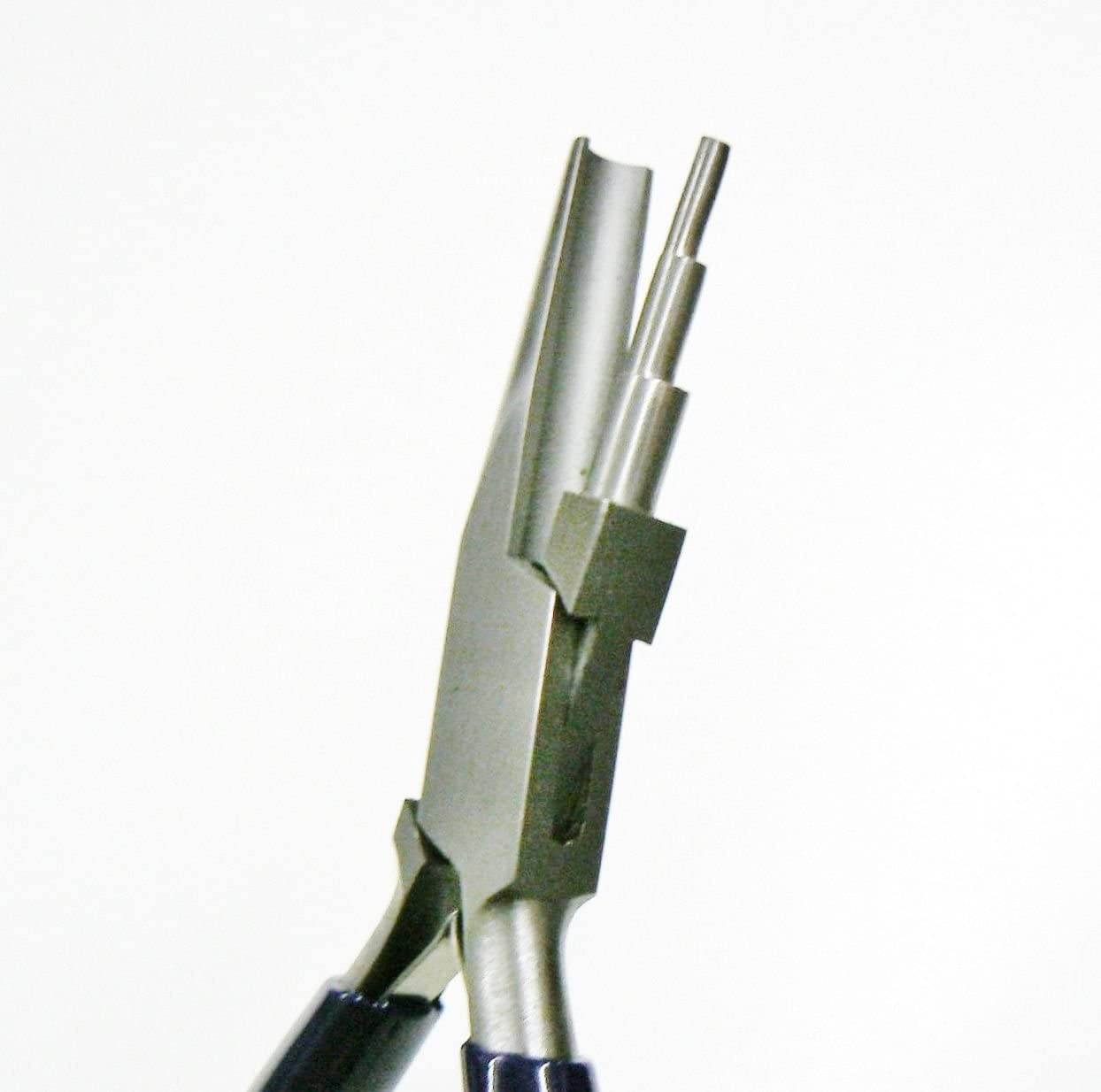 WIRE WORKING PLIERS WIRE LOOPING PLIER COILING FORMING BENDING SMOOTH 3 STEP JAW (E 3) NOVELTOOLS