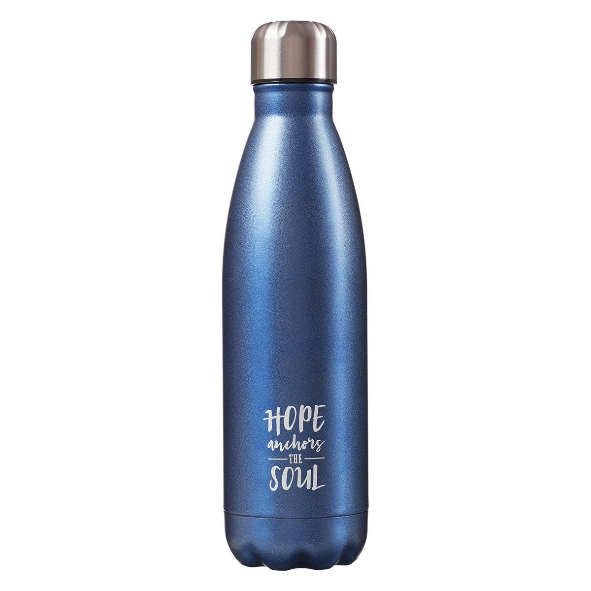 Inspirational Stainless Steel Vacuum Insulated 17 Oz. Hot & Cold Beverage Bottle - Hebrews 6:19 by Christian Art Gifts