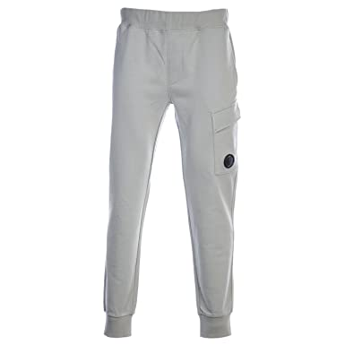 36ea7ce2f46b6 CP Company Lens Cargo Sweatpant in Stone at Amazon Men's Clothing store: