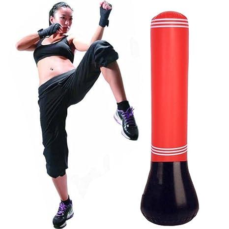 52ece2cbac95c6 Sacco da boxe gonfiabile da pavimento, per adulti, per allenamento ...