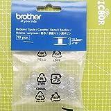 Brother SA156 Top Load Bobbins, 10 pack