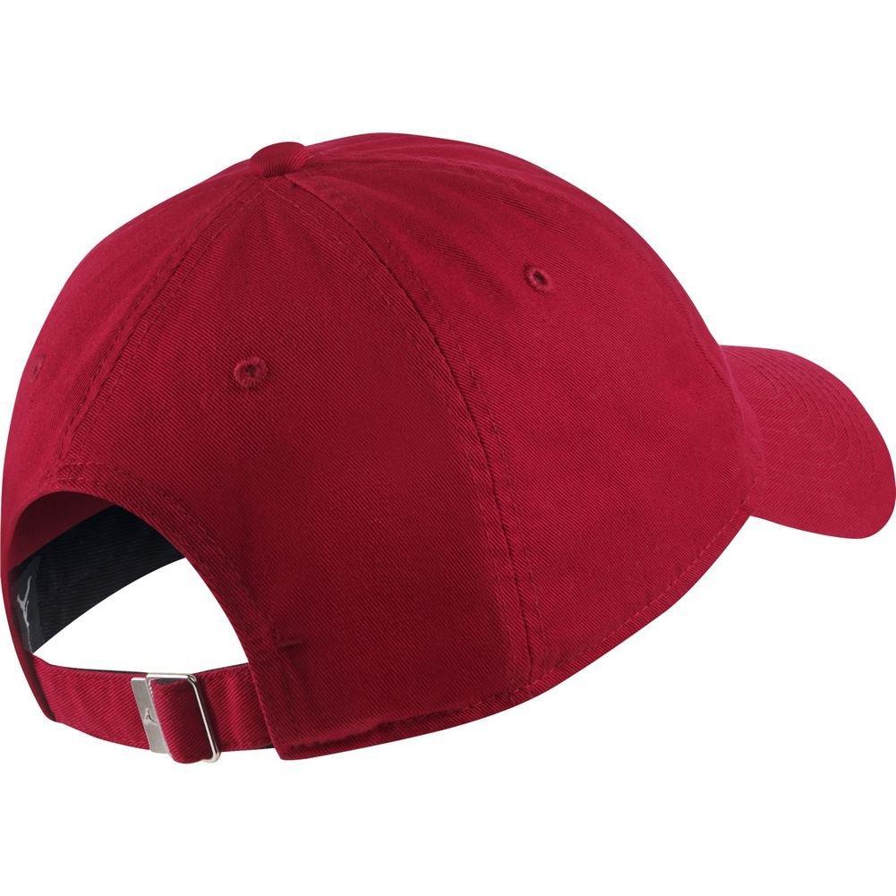 Jordan Cap Heritage86 Jumpman Air Red Adjustable  Amazon.co.uk  Clothing 7b9883fc46be