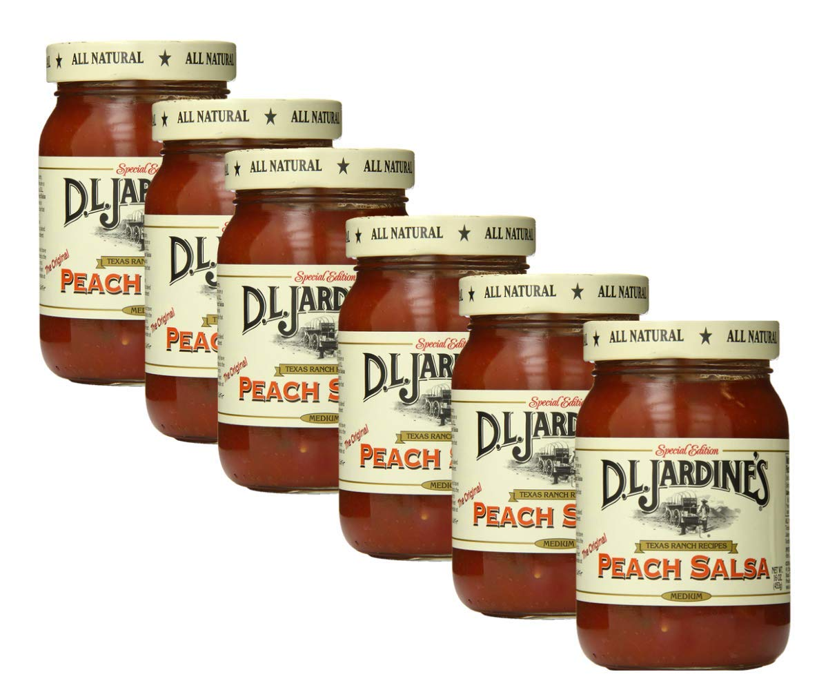 Salsa-Peach/Med -Pack of 6