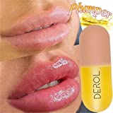 RONSHIN New Natural Lip Plumper Enhancer Plumping Balm Moisturizing Clear Lip Gloss