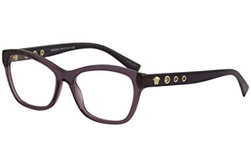 eca8057c072bc Image Unavailable. Image not available for. Color  Versace VE3225 Eyeglass  Frames ...