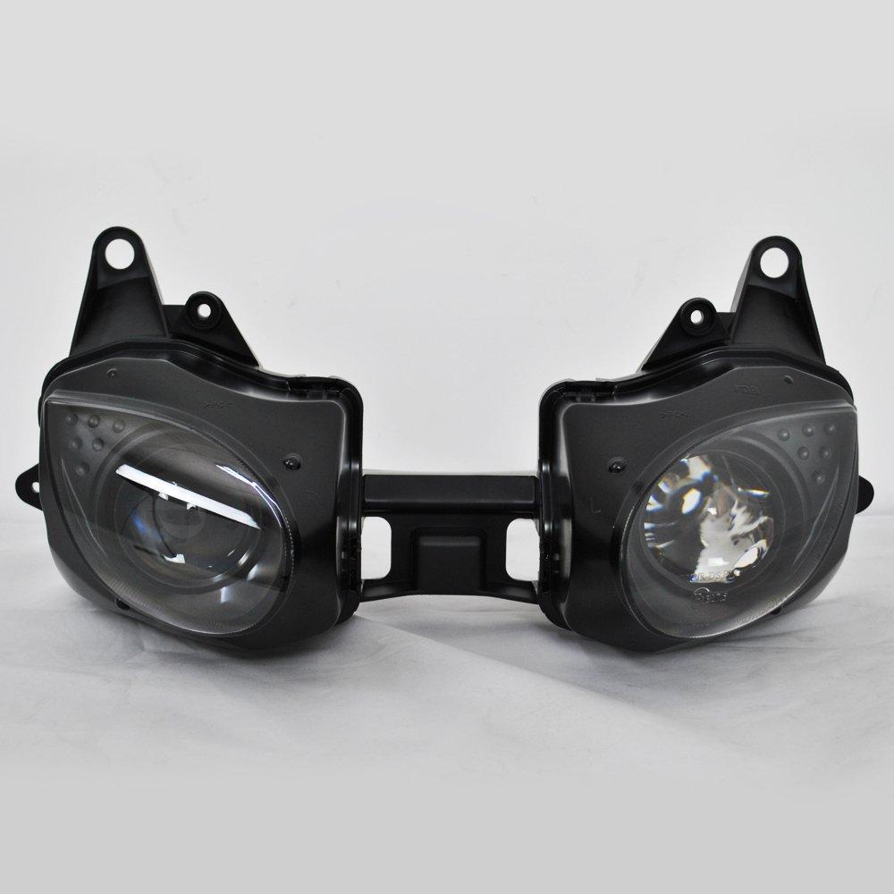 Amazon.com: ZXMOTO Motorcycle Headlight Assembly Lamp Light ...