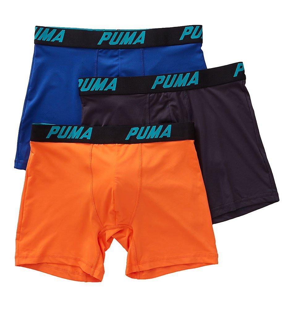 PUMA Men's 3 Pack Tech Boxer Brief Puma Men's Underwear PUMFW1511564
