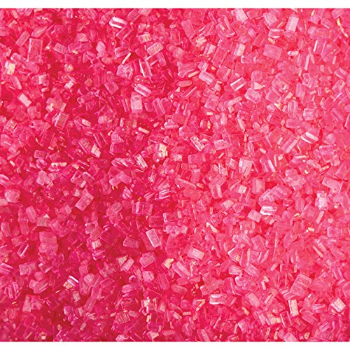 Strawberry Sprinkles - Wilton Pink Sparkling Sugar, 5.25 oz.